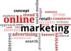 Online Marketing Word Cloud